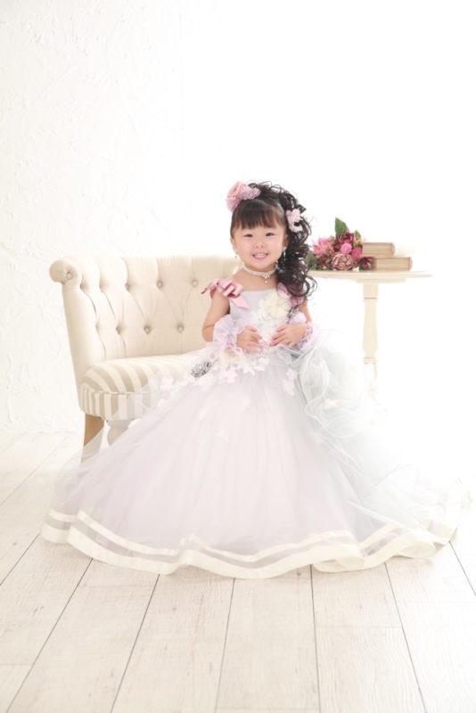 七五三 3歳ドレス 久喜店撮影