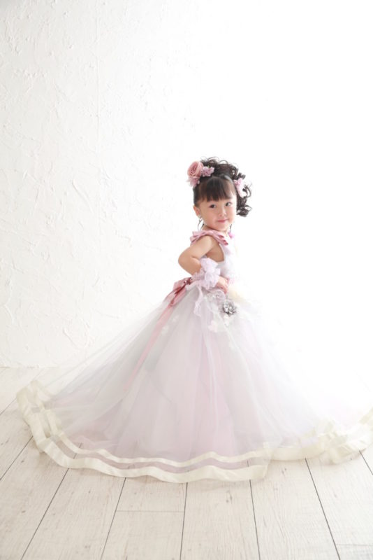 久喜店撮影 七五三3歳ドレス